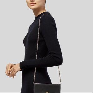 Prada Black Large Wallet on a Chain